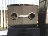 Bose 802 Speakers & Bose MB4 Speakers & Panaray Controller