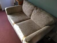 Large 2 seater sofas x 2