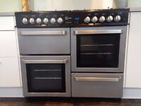Flavel Finesse 100 8 Ring Range Hob and Cooker For Sale