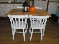 COTTAGE STYLE TABLE & CHAIRS