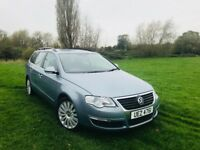 Volkswagen Passat 1 Owner 2008 BHP 140 Full service History 6 Speed Long MOT & 2 Keys