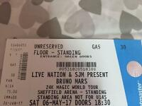 Bruno mars tickets Sheffield