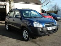 2006 hyundai tucson 2.0 diesel gsi only 80000 miles, motd oct 2018 tidy example all cards welcome