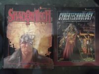 SHADOWRUN Source Book Set - Grimoire, Street Samurai, Awakenings, more! Rare vintage books BRIGHT