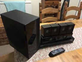 Samsung DVD + Speaker Surround System, perfect working order