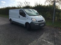 VAUXHALL VIVARO WITH 3 MONTHS GUARANTEE -LONG