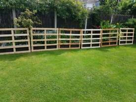 Heat treated timber frames. Perfect for fencing / garden project's