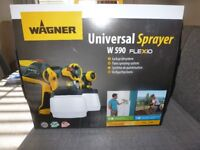 WAGNER universal paint sprayer (brand new) BARGAIN ONLY £80