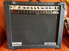 Zoom Fire Modeling guitar amp with Celestion Red Label Tube 10 spkr 35 watt amplifier swap trade