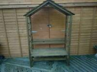 New. Strong Garden two seater Arbour bench