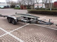 Car Transporter Trailer Brenderup Twin Axle Braked . NOT Ifor Williams !