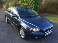 VOLVO S40 1.6 06 REG IN BLUE WITH GREY TRIM AND FULL SERVICE HISTORY,, 07867955762