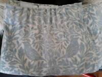 Duck egg blue curtains 66x72