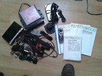 Kenwood KNA - DV3200 Sat Nav System DVD Navigational System - Large Screen
