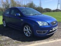 Ford Focus st 2.5 2006 1 owner met blue full service history