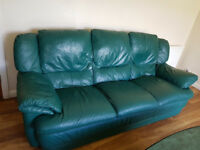 *Sterling ORIGINAL* Leather Sofa Couch 3 Seater