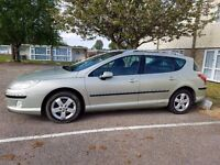 Peugeot 407SW gold/silver 2008 bargin buy Monday morning as I'm leaving Monday afternoon