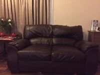 DOLCE VITA LEATHER SOFAS 3 & 2 SEATER