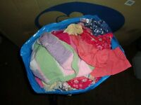 1-2 years 1 large bin liner full of girls clothes