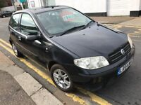 Fiat Punto 1.2 petrol 5 speed manual 2004 63k black