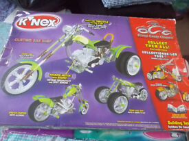 Multi Sets of childrens K'NEX construction toys age 6+