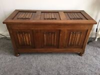 Solid Wood Chest Trunk