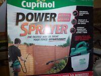 Cuprinol Cordless Rechargeable Power Sprayer