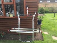 Vw transporter bike rack