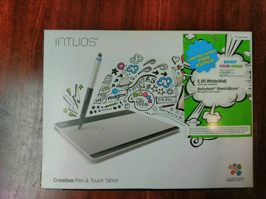 Wacom Intuos Pen & Touch Drawing Tablet CTH-480 USED, WORKING  Small size |  in Oxford, Oxfordshire | Gumtree