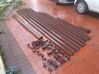 32m of guttering .. Joints/downpipes/fixings