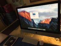 "iMac 27"" All in One 8GB RAM 1TB HDD Apple Wireless Keyboard+Wireless Magic Mouse Upgraded El Capitan"