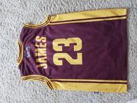 Kids Age 10 to 12 Basket Ball Top.