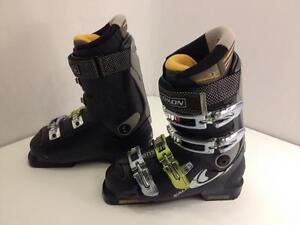 Salomon XWave 8.0 men's ski boots, size 24 Mondo, flex 80