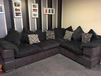 Corner suite with pull out sofa bed