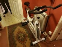 Kelly Holmes exercise bike unwanted gift never used