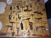 Large Collection of Corkscrews