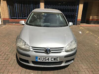 VOLKSWAGEN GOLF - DIESEL- SILVER- 2004/54 - 87K FROM NEW!!!
