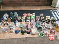 Job lot over 50 beer pump clips