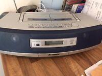 Panasonic Twin Deck Cassette / CD / Radio Recorder Ghetto Blaster