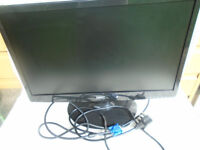 Superb ' HKC ' 21 inch Computor Monitor . Rarely Used . Includes Cables etc