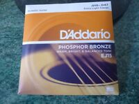 STRINGS (D'ADDARIO) NEED SPACE MUST SELL