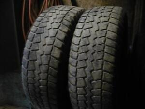 Four matching 265-70-17 snow tires  $140.00