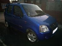 Suzuki Wagon R+ versatile, reliable, long MOT, central locking, alloys, FSH, elec sun roof, CD/Radio