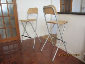 Housemove/House clearance. Pair nice bar (breakfast bar?) stools, good conditon.