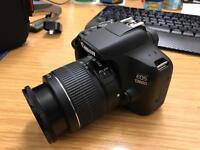 Canon EOS 1300D DSLR and 18-55mm DC Lens Incl. Protective Carry Case & 1.3M Extendable Tripod
