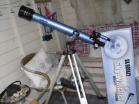 Refracting Telescope, Very good condition includes box and insructions,