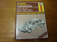 Haynes Granada & Scorpio manual - March 1985 - 1993