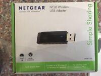 NETGEAR N150 USB WiFi Adapter *BOXED*