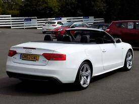 AUDI A5 2.0 TFSi S LINE SPECIAL EDITION 2dr 222 BHP *Sat N (white) 2013