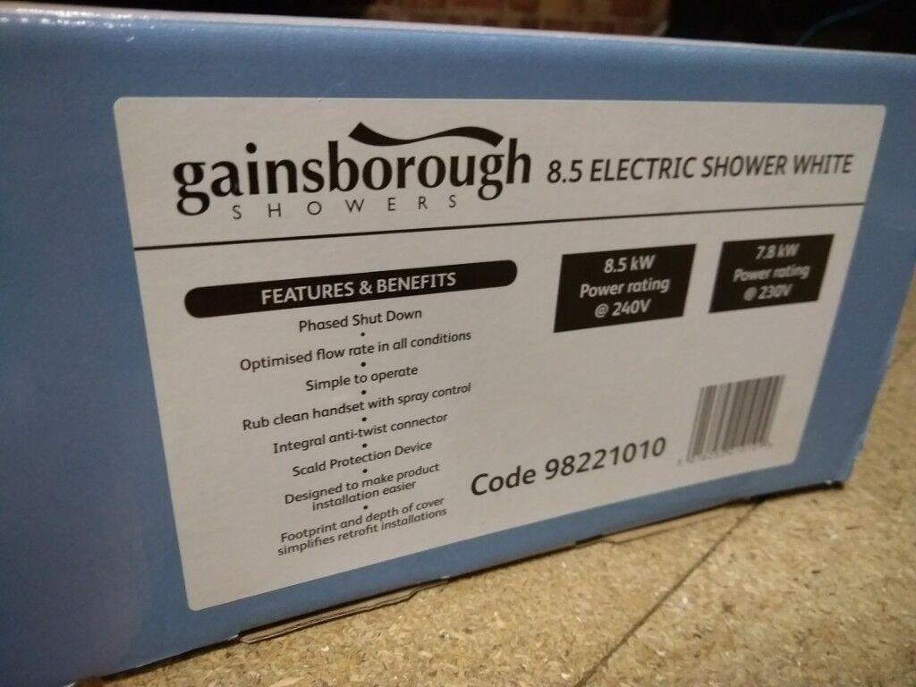 Gainsborough Electric Shower | in Edmonton, London | Gumtree